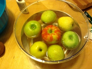 Soaking Apples